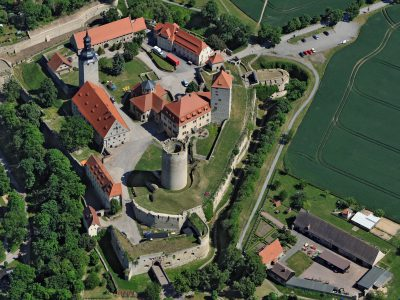 Objekt: Burg Querfurt | Aufnahmedatum: 25.05.2012 | Autor: Nürnberg Luftbild, Hajo Dietz