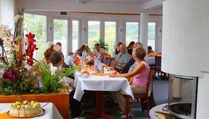 Terrassencafé Strandhotel Aseleben am Süßen See