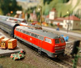 Besuch der Modellbahn Wiehe - Ihr Hotel in Mansfeld-Südharz