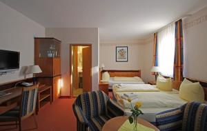 Vierbettzimmer im Strandhotel Aseleben am Süßen See