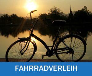 Fahrradverleih für Hotelgäste im Strandhotel Aseleben