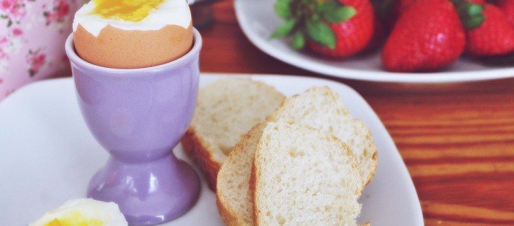 Frühstück im Strandhotel Aseleben