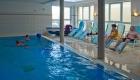 Schwimmhalle, Schwimmbad im Strandhotel Aseleben, Seeburg