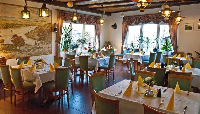 Fischerstube im Restaurant im Strandhotel Aseleben