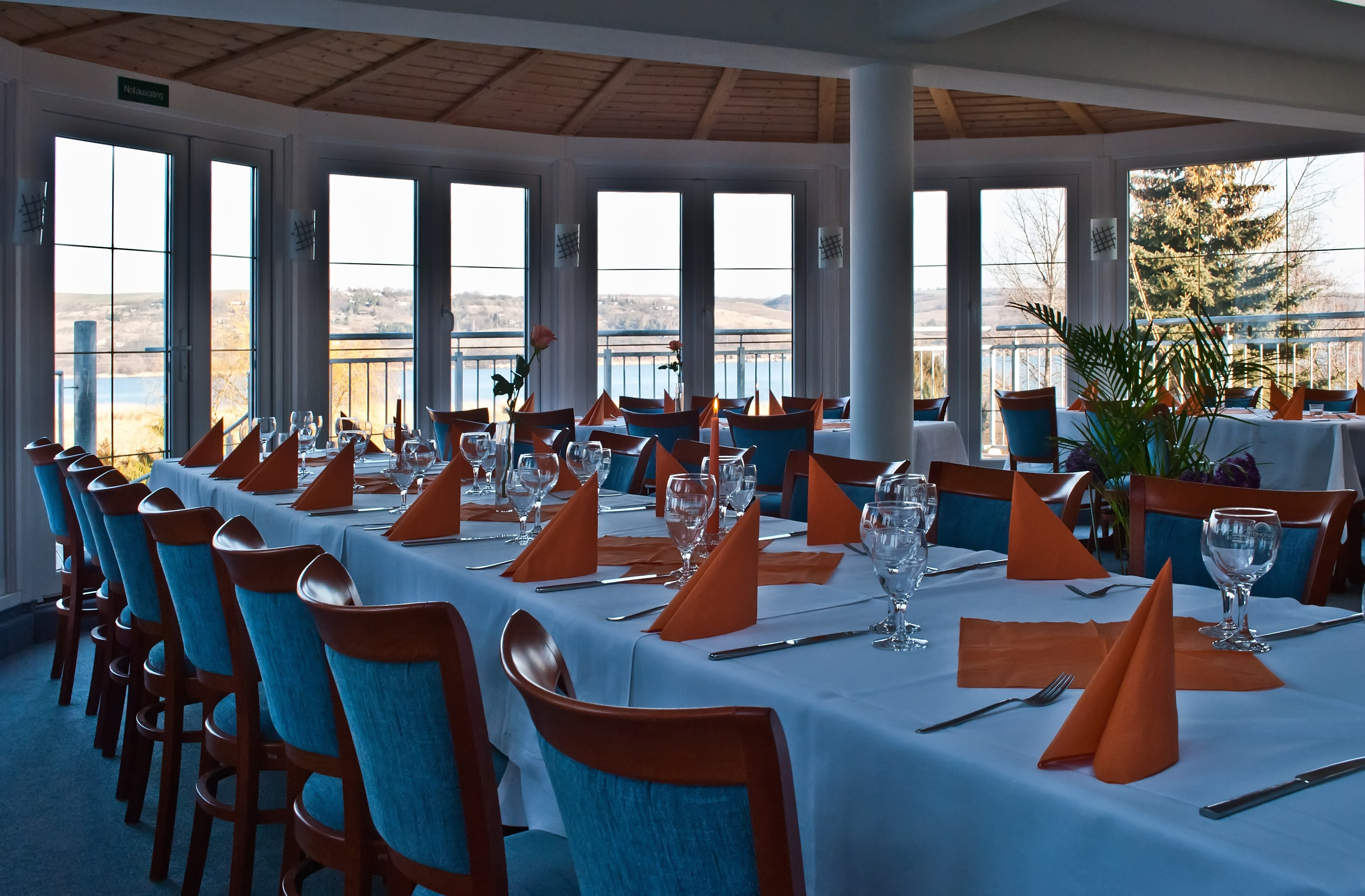 Terrassencafé im Strandhotel Aseleben