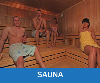 Freizeit - Sauna im Strandhotel Aseleben